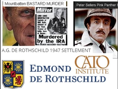 Mr Edmond De Rothschild 1947 reparations Peter Sellers Mountbatten Cato Diamonds Bn £££$$$  cover up
