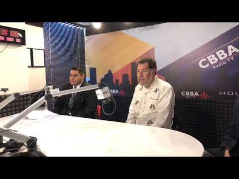 Entrevista a @fernandeznorona en CBBA Radio TV, Houston Texas.