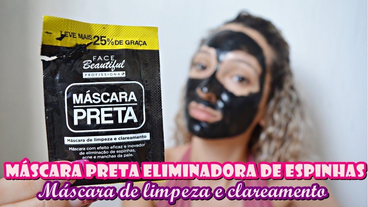 da80fa2708e0f7 Máscara Preta - Face Beautiful Profissional. | Pri Andressa.