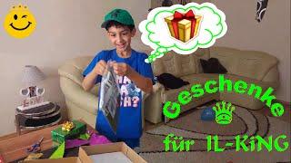 Geschenke auspacken :) Danke Arazhul von IL-KiNG ♛ VLOG 2