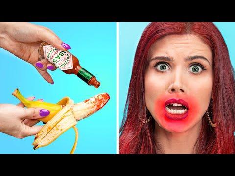 Попробуй это съесть челлендж!