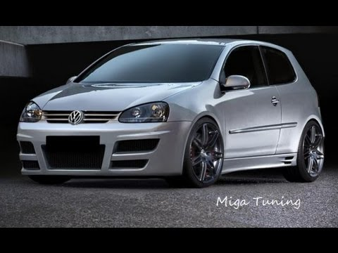 vw golf 5 tuning body kit youtube. Black Bedroom Furniture Sets. Home Design Ideas