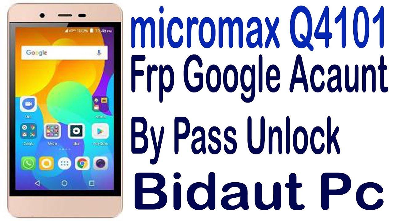 micromax q4101 google account bypass - cinemapichollu