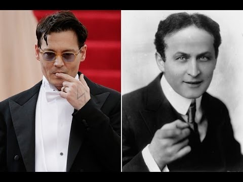 Johnny Depp To Star In THE SECRET LIFE OF HOUDINI - AMC Movie News