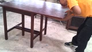 Pks New Drop Leaf Table.vid02