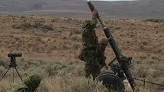 Heavy Mortars!  Live Fire Exercise - U.S. Soldiers and Japanese Self Defense Forces!