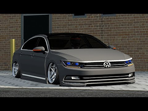 lfs vw passat b8 - youtube
