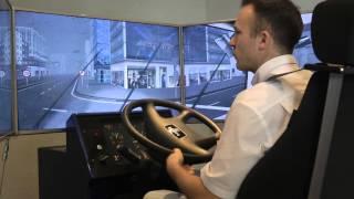 """Lkw/Bus Simulator """"Tutor""""  für die Berufskraftfahrerausbildung"""