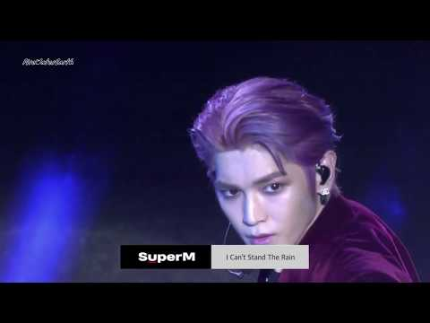 SuperM - I Can't Stand The Rain, Super Car And Jopping Live Performance