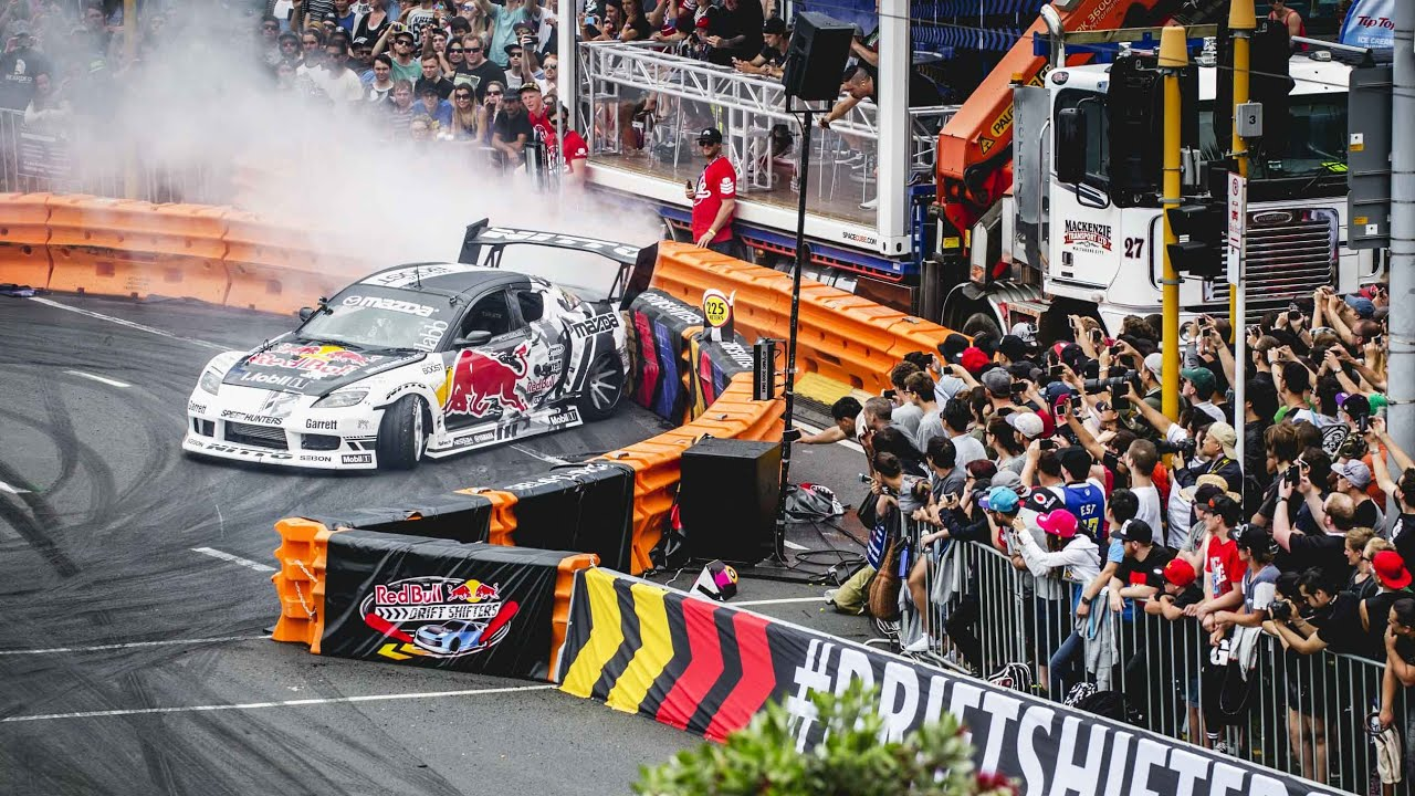 Drifting In The Streets Of Auckland Red Bull Drift