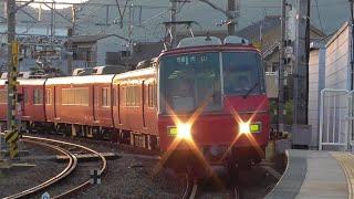 名鉄2018年度廃車編成 名鉄5300系5304F 1766レ普通犬山 新鵜沼到着