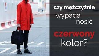 Czerwony kolor w męskich stylizacjach | ZOPHIA Osobista Stylistka