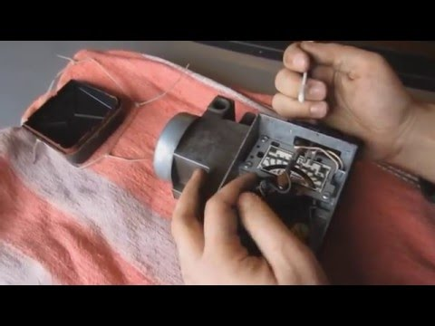 Ремонт обслуживание расходомера воздуха ДМРВ Ford Sierra Сиерра Scorpio, Opel, Audi, BMW