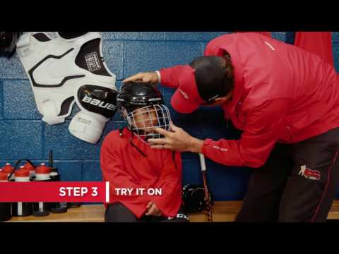 How To Fit a Hockey Helmet (7 Steps)
