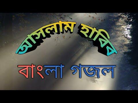 জগত আজ পেয়েছে ।। আসলাম হাবিব ।। Bangla gojol Jagat aj peyechhe by Aslam Habib