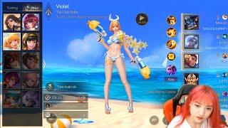 Box • Anita | Violet Tiệc Bãi Biển Hành Nghề SP Cho Team 😝