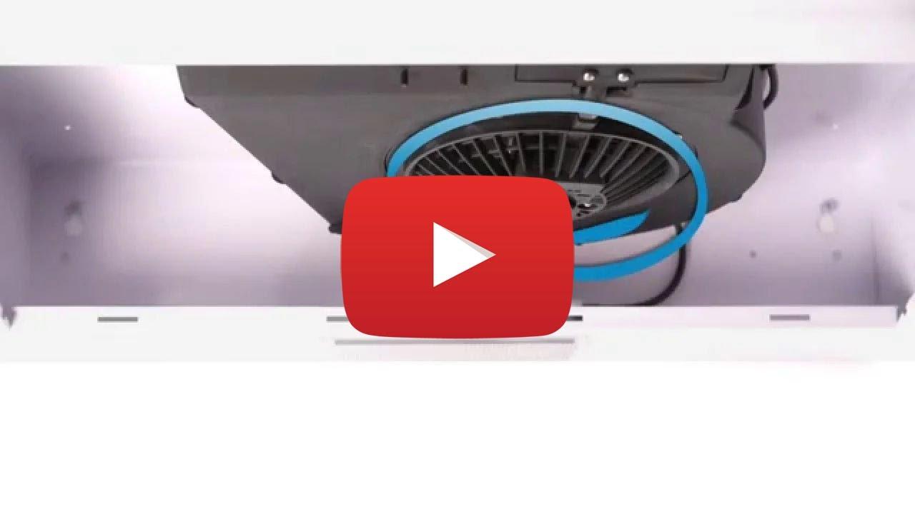 Kök köksfläkt installation : Byte av fläktmotor i en köksfläkt - YouTube