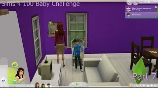 Sims 4 100 Baby Challenge Part 7 Oliver grows up!!