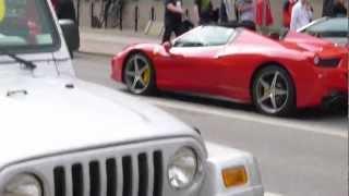 Novitec Rosso Ferrari 458 Spider 2012 Videos