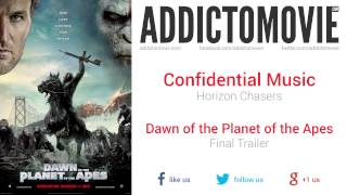 Dawn of the Planet of the Apes - Final Trailer Music #2 (Confidential Music - Horizon Chasers)