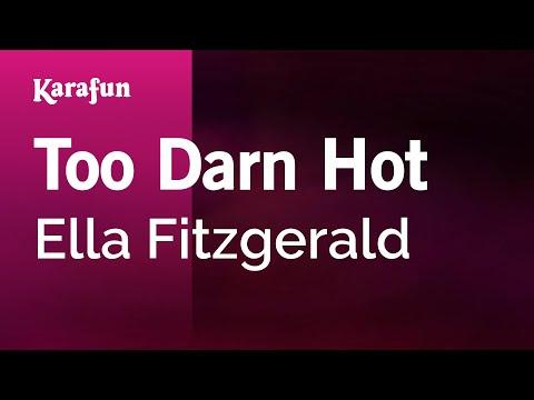 Karaoke Too Darn Hot - Ella Fitzgerald *