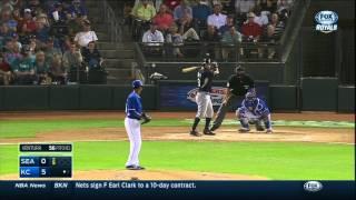 MLB: SEA AT KCA - March 28, 2015