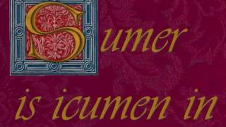 Medieval music - Sumer is icumen in - live recording 2011