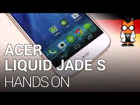 Acer Liquid Jade S - Leichtes Octacore-Smartphone im Hands-On [DEUTSCH]