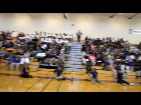 Just-In-Time & Young Trillerz Performing Live At Bethune Middle In Decatur, Ga
