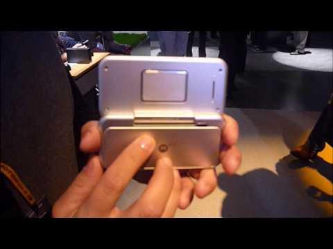 Motorola Backflip | CES 2010