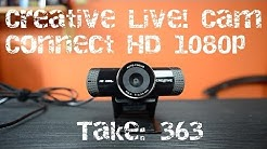 Creative Live! Cam Connect HD 1080p Webcam