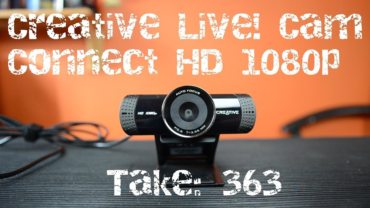 CREATIVE LIVE! CAM CONNECT HD 1080 (VF0760) WEBCAM DRIVER DOWNLOAD (2019)