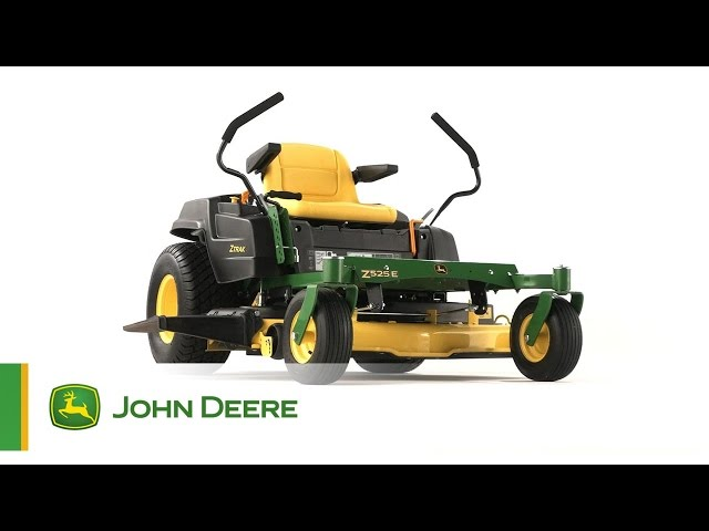 The John Deere Z525E ZTrak Zero-Turn Mower