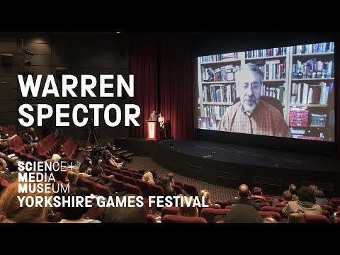 Warren Spector: The Guardian Interview | Yorkshire Games Festival 2016