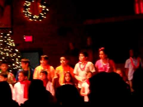 All grades Christmas show at Corpus Christi Holy Rosary School