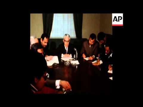SYND  20-2-73 ARAB MINISTERS PLAN PROPAGANDA CAMPAIGN