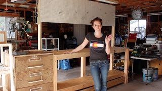 Build a Simple 2x4 Workbench