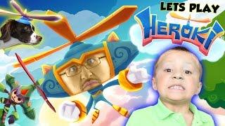 lets play heroki w rose chase ipad gameplay by fgteev