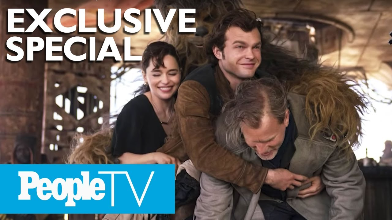 'Solo: A Star Wars Story' Special: Behind The Scenes With The Cast | PeopleTV