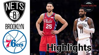 Nets vs 76ers HIGHLIGHTS Full Game | NBA April 14