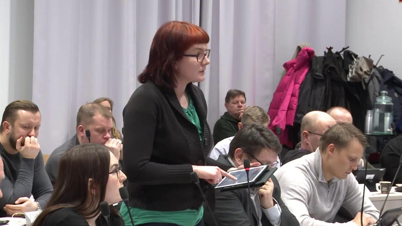 Kangasalan valtuuston helmikuun 2018 kokous