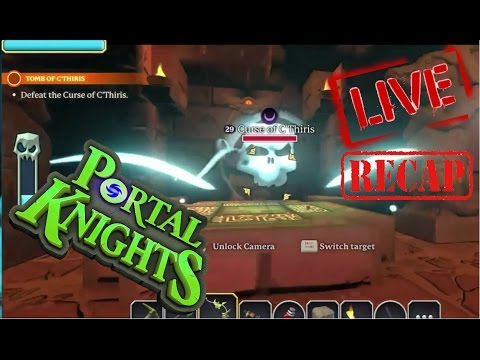 ♥ CHiLLs Plays ♠ Portal Knights! ♥ Taking On The C'THIRIS Quest!!! ♥