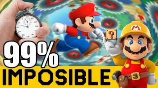 Nivel 0% Clear Rate y Un SpeedRun Japo ! - NIVELES 99% IMPOSIBLES #31 | Super Mario Maker | ZetaSSJ