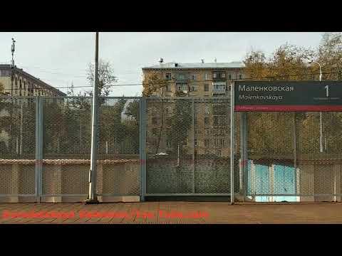 Электропоезд ЭД4М от Ярославского вокзала до Пушкино