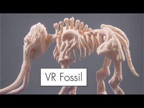 Mammoth Fossil // VR Sculpt to 3D Print
