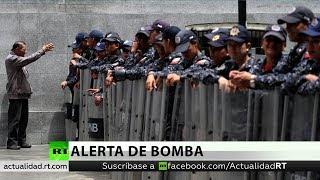 Amenaza de bomba impide sesión de la Asamblea Nacional Constituyente en Venezuela