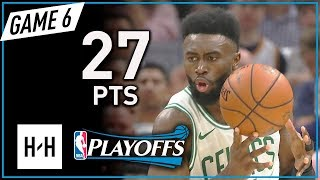 Jaylen Brown Full Game 6 Highlights vs Cavaliers 2018 Playoffs ECF - 27 Points!