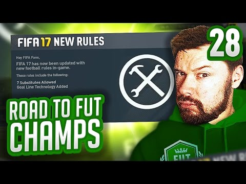 NEW RULES IN FOOTBALL?! - FIFA 17 ROAD TO FUT CHAMPS #28