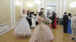 Рождественский бал в усадьбе Вороново 09.01.2019.