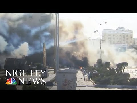 Unrest Erupts In Mideast After Donald Trump's Jerusalem Decision | NBC Nightly News